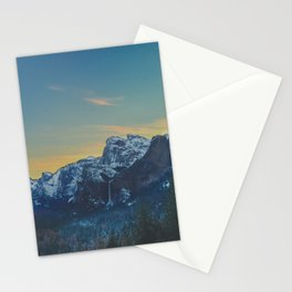 Sunrise in the Valley Stationery Cards