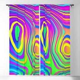 Liquid Neon Blackout Curtain