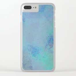 Oceanic Exploration Clear iPhone Case