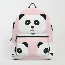 Panda Love -Pink Backpack