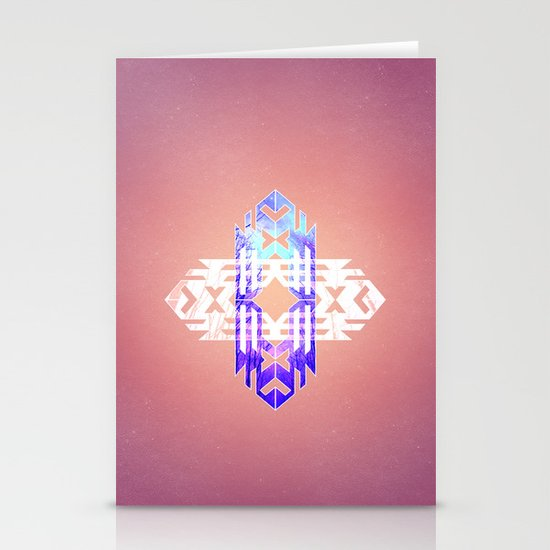 Aztec Track Stationery Cards