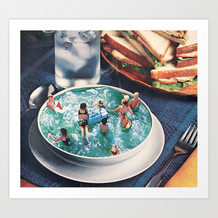 Discover the motif SOUP DU JOUR by Beth Hoeckel as a print at TOPPOSTER