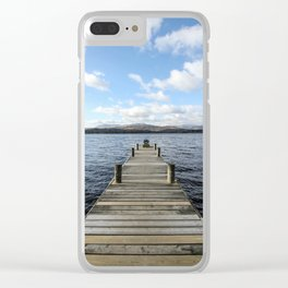 Colour It In Clear iPhone Case