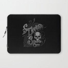 Vintage Skull Tattoo Studio Designs By InkedStar Laptop Sleeve