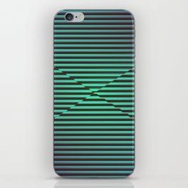 Play with stripes  2 iPhone Skin