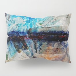 Drawing the Line Pillow Sham