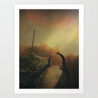 portal 2 Art Prints featuring portal by Dirk Wuestenhagen Imagery