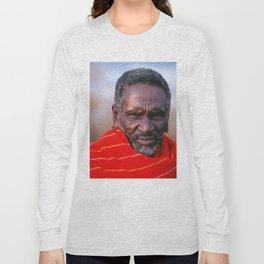 African Maasai Elder Long Sleeve T-shirt