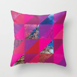 Triangles 3 Throw Pillow