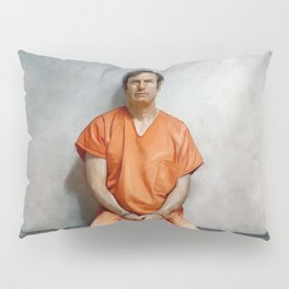 Jimmy McGill aka Saul Goodman In Prison Orange And Chains - Better Call Saul Pillow Sham