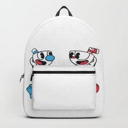 Cuphead and Mugman Backpack