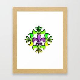 Five Nola Flowers Framed Art Print