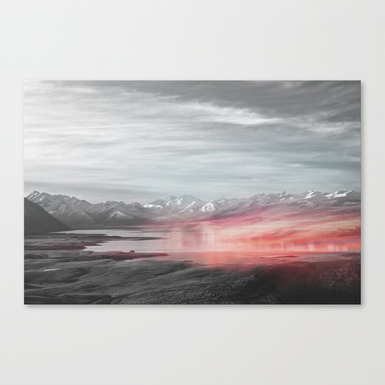 Painted Mirrors Canvas Print