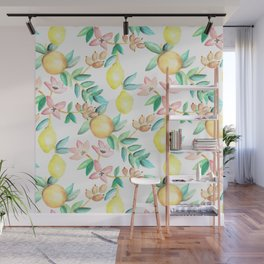 Flowers and Fruits Wall Mural