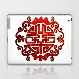 Chinese Stamp Laptop & iPad Skin