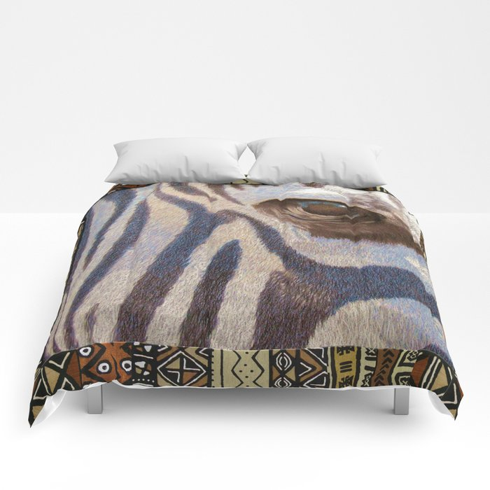 Grants Zebra Comforters