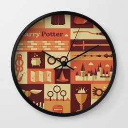 All character Harrypotter Wall Clock