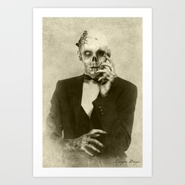 Dark Victorian Portraits: The Hollywood Dead Art Print