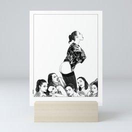 asc 866 - Les sept Silvias (Silvia seven times) Mini Art Print