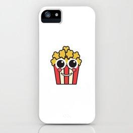 popcorn cinema popcorn bag corn bag iPhone Case