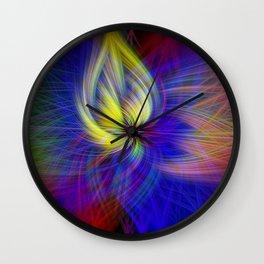 capit twirls Wall Clock