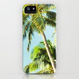 Maui Paradise Palms iPhone Case