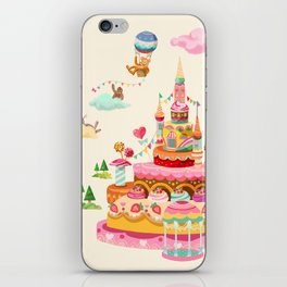 Ice Cream Castles In The Air iPhone Skin