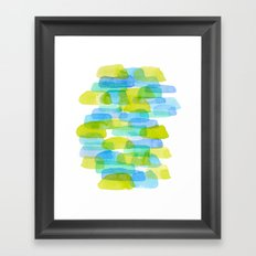 Watercolor 001 Framed Art Print