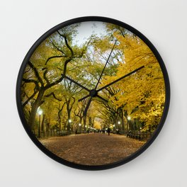 Central Park New York City Wall Clock