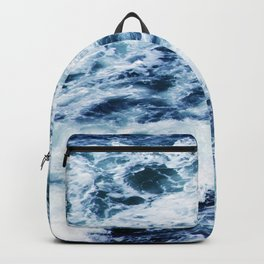 Ocean Waves: A Power Greater Than Me Backpack