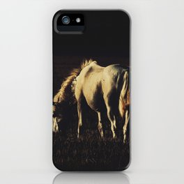 Horses iPhone Case