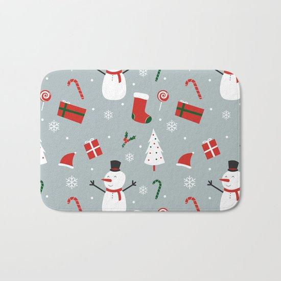Yay Christmas! Bath Mat