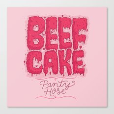 Beef Cake Canvas Print