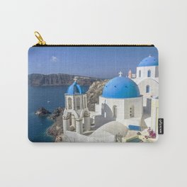 Santorini, Oia Village, Greece Carry-All Pouch