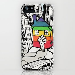 A Safe Place to Call Home iPhone Case