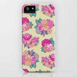 Hidden Jungle Pattern iPhone Case