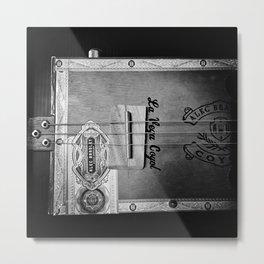 Cigar Box Guitar Blues Metal Print
