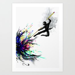 mARTial Art Print