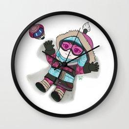 Mei-be an Angel Wall Clock