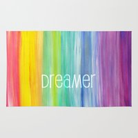 dreamer Area & Throw Rugs featuring Dreamer by micklyn