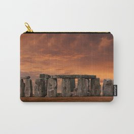 Stonehenge Sunset Carry-All Pouch
