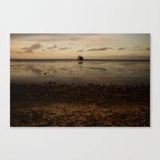 Tropic Rust Canvas Print