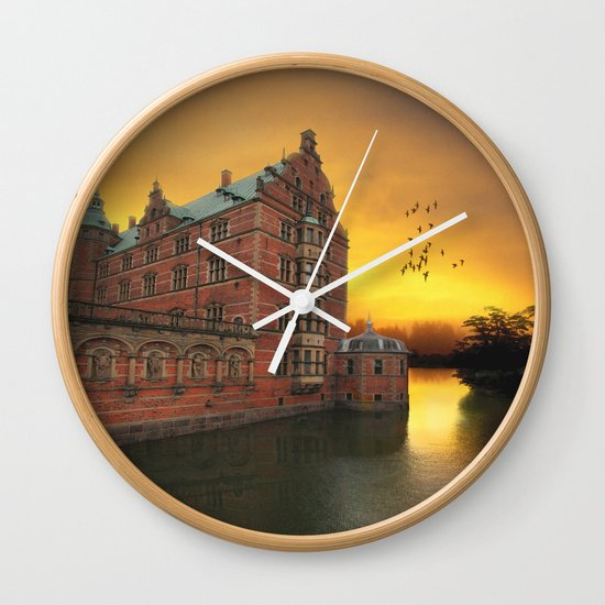 Castle View Wall Clock