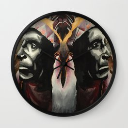 Brother Chief Wall Clock