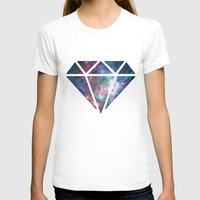 diamonds T-shirts featuring Diamonds  by Callmepains