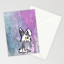 Bunny Zombie Stationery Cards