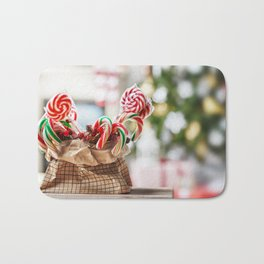 Merry Christmas & Happy New Year Bath Mat