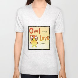 Owl Always Love You Unisex V-Neck
