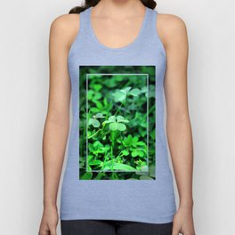 Clover Stay Unisex Tank Top