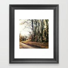 Cornered. Framed Art Print